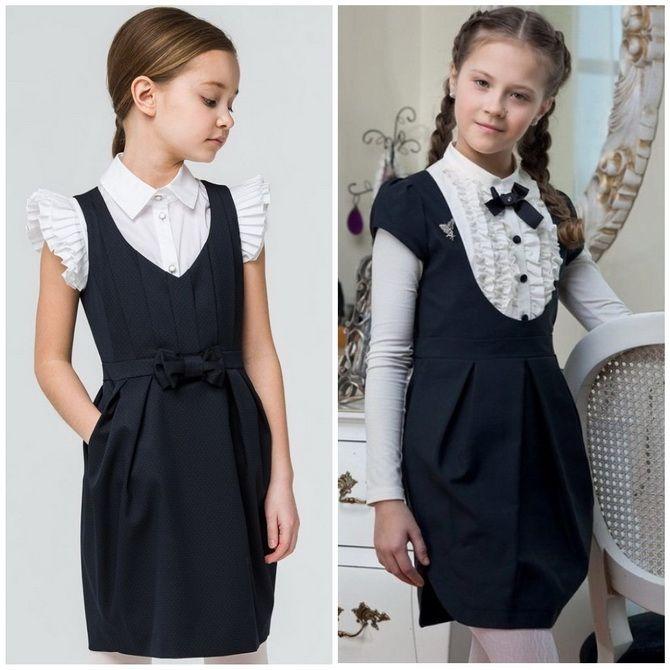 Шкільні сукні для дівчаток: наймодніші тенденції 2021-2022 року 6
