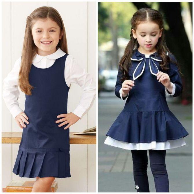 Шкільні сукні для дівчаток: наймодніші тенденції 2021-2022 року 7
