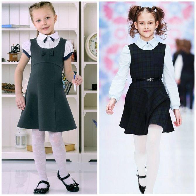 Шкільні сукні для дівчаток: наймодніші тенденції 2021-2022 року 8