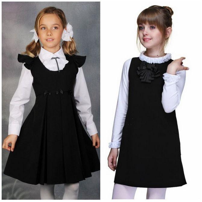 Шкільні сукні для дівчаток: наймодніші тенденції 2021-2022 року 9