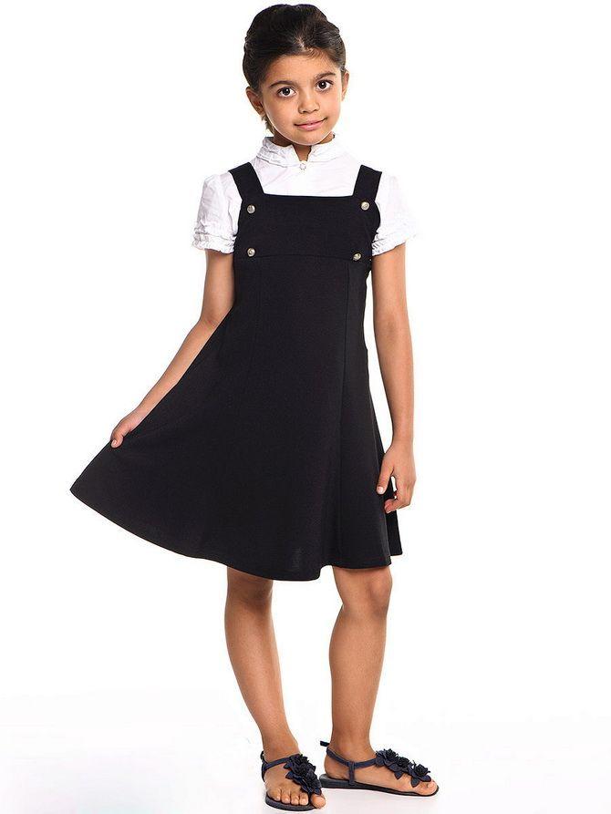 Модні шкільні сарафани для дівчаток: який обрати у 2021-2022 році 10