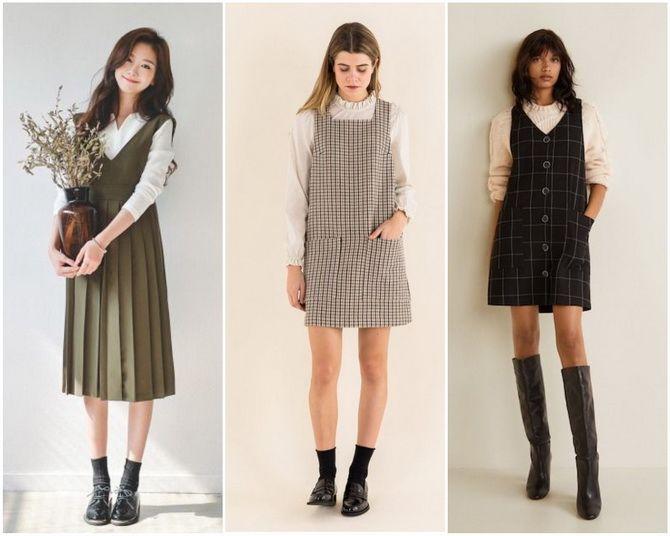 Модні шкільні сарафани для дівчаток: який обрати у 2021-2022 році 22