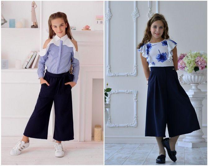 Модная школьная форма для девочек: стильные фото 2020-2021 года 12