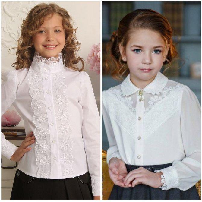 Модная школьная форма для девочек: стильные фото 2020-2021 года 17