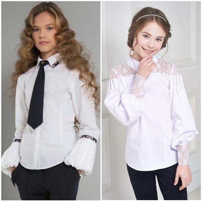 Модная школьная форма для девочек: стильные фото 2020-2021 года 18