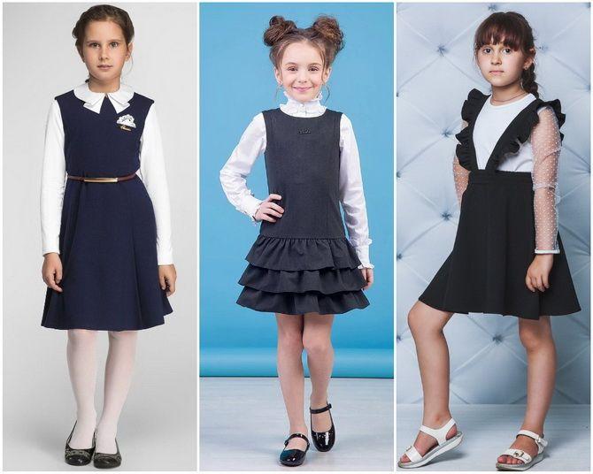 Модная школьная форма для девочек: стильные фото 2020-2021 года 2