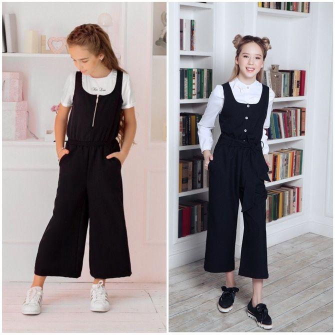 Модная школьная форма для девочек: стильные фото 2020-2021 года 20