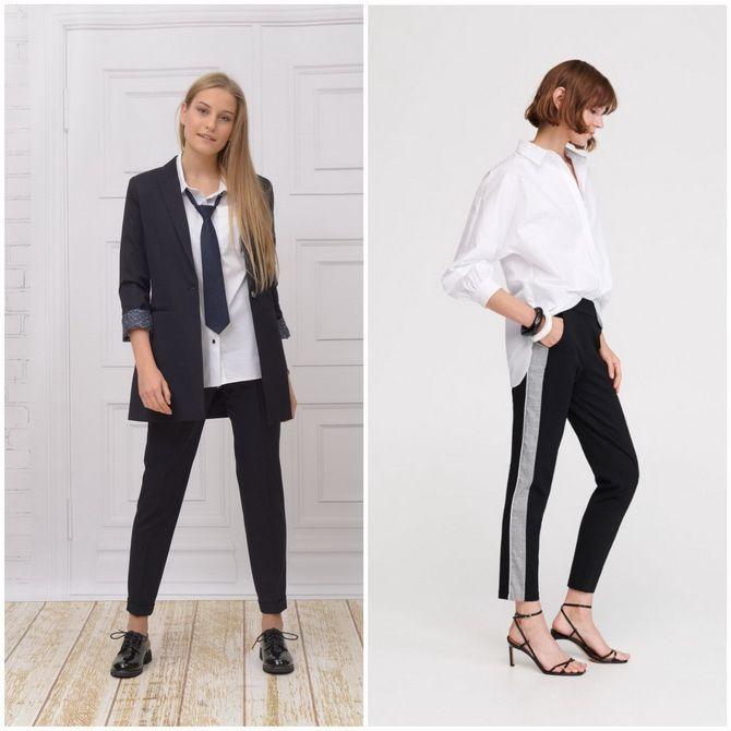 Модная школьная форма для девочек: стильные фото 2020-2021 года 27