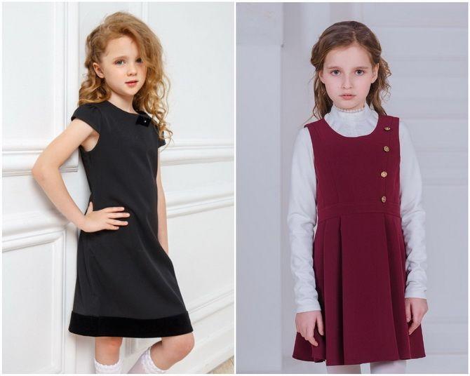 Модная школьная форма для девочек: стильные фото 2020-2021 года 9