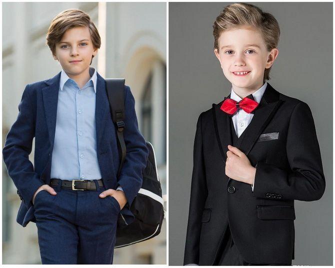 Модная школьная форма для мальчиков: стильные и практичные фасоны 2021-2022 10