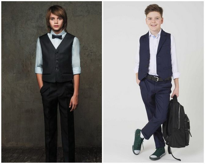 Модная школьная форма для мальчиков: стильные и практичные фасоны 2021-2022 13