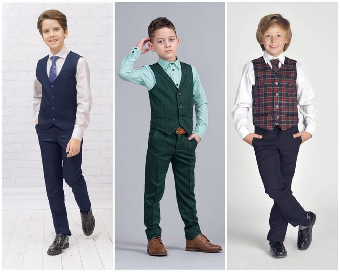 Модная школьная форма для мальчиков: стильные и практичные фасоны 2021-2022 14
