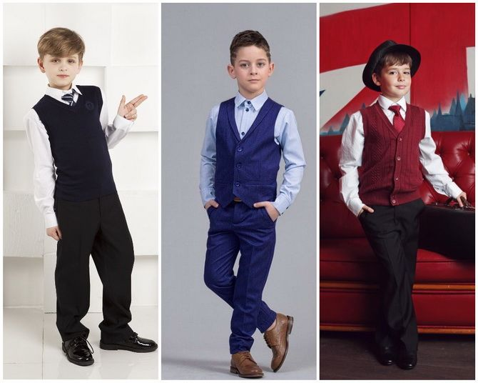 Модная школьная форма для мальчиков: стильные и практичные фасоны 2021-2022 15