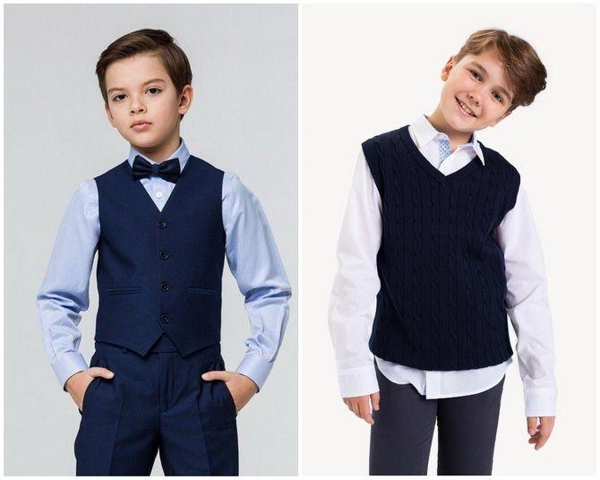Модная школьная форма для мальчиков: стильные и практичные фасоны 2021-2022 16