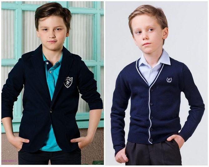 Модная школьная форма для мальчиков: стильные и практичные фасоны 2021-2022 19
