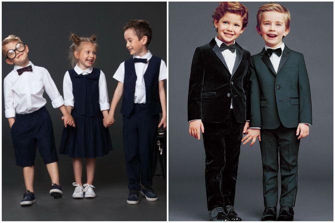 Модная школьная форма для мальчиков: стильные и практичные фасоны 2021-2022 1