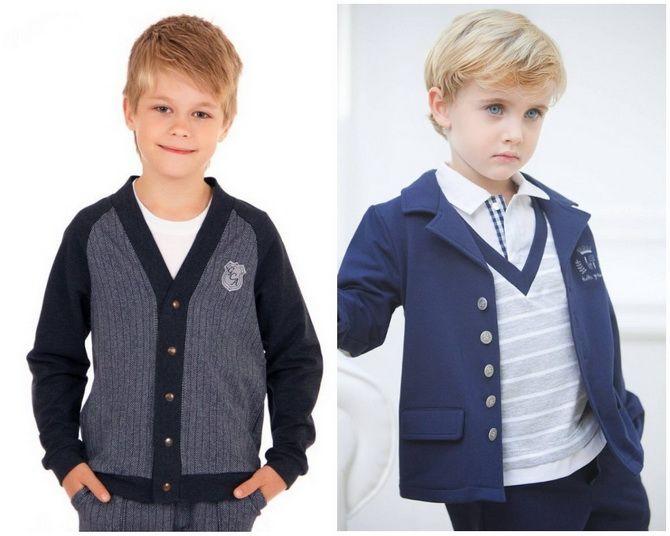 Модная школьная форма для мальчиков: стильные и практичные фасоны 2021-2022 20