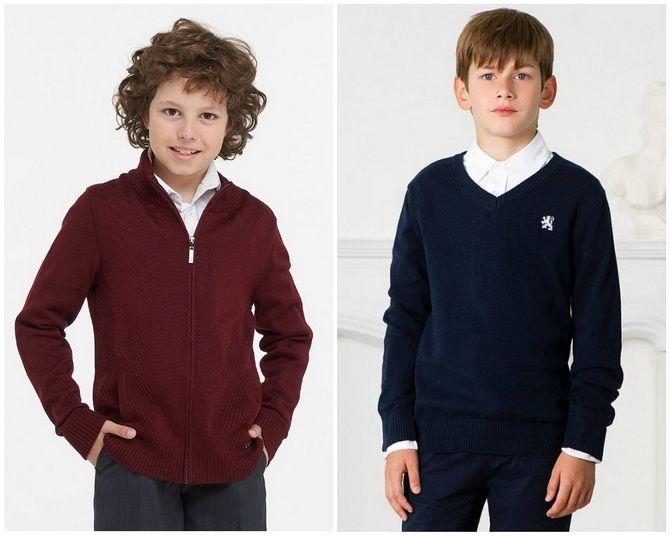 Модная школьная форма для мальчиков: стильные и практичные фасоны 2021-2022 21