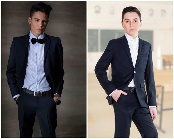 Модная школьная форма для мальчиков: стильные и практичные фасоны 2021-2022 5