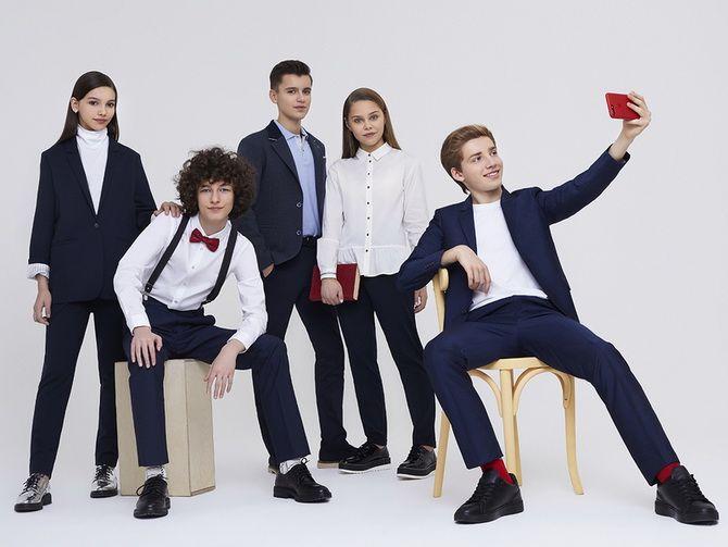Модная школьная форма для мальчиков: стильные и практичные фасоны 2020-2021 6