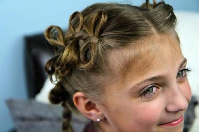 Красиві і прості зачіски в школу на середнє волосся: кращі ідеї на кожен день 2