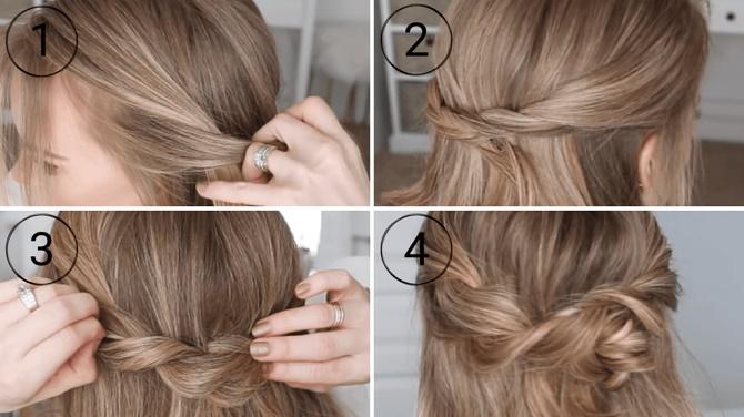 Красивые прически на 1 сентября с распущенными волосами для девочек 26
