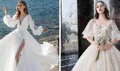 Модні весільні сукні з рукавами 2021-2022