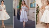 Короткі весільні сукні 2021-2022
