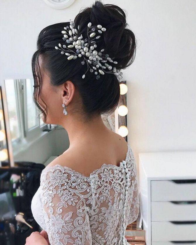 Свадебные прически 2021: шикарные идеи для торжества 5
