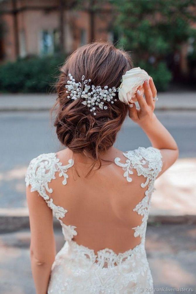 Свадебные прически 2021: шикарные идеи для торжества 6