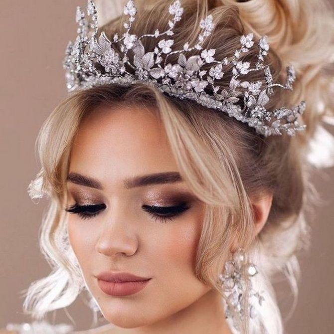Свадебные прически 2021: шикарные идеи для торжества 12