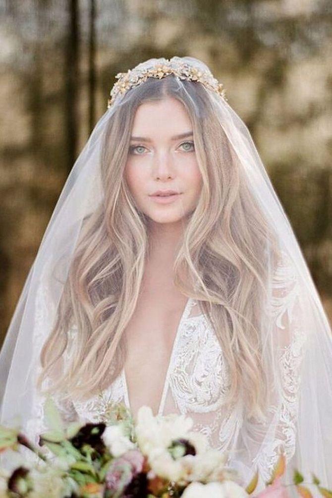 Свадебные прически 2021: шикарные идеи для торжества 15