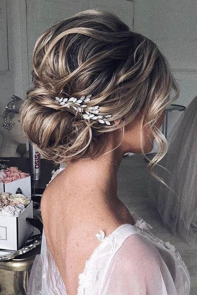 Свадебные прически 2021: шикарные идеи для торжества 7