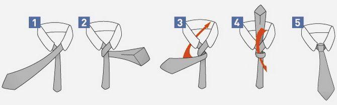 Як зав'язати краватку – 5 кращих способів 4