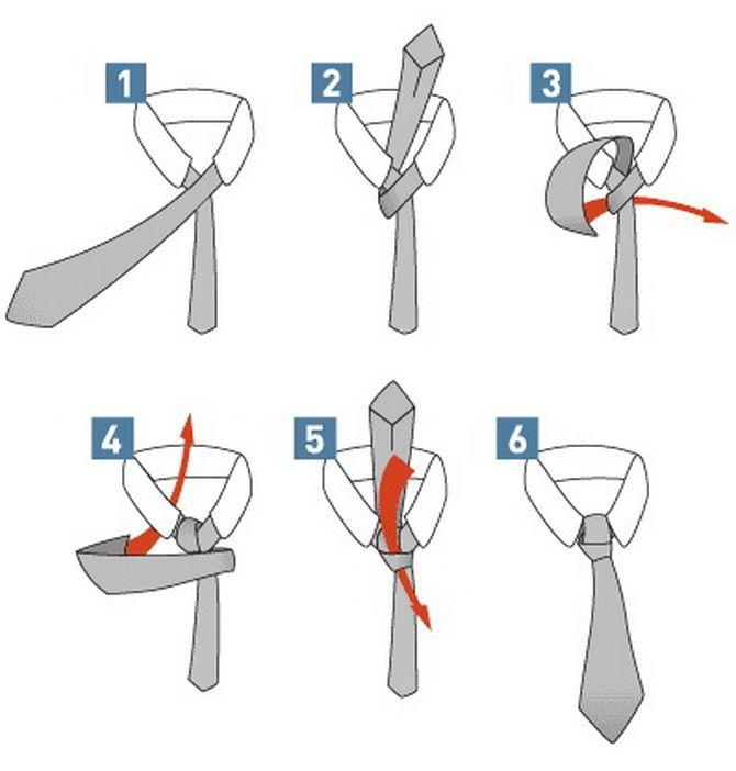 Як зав'язати краватку – 5 кращих способів 8