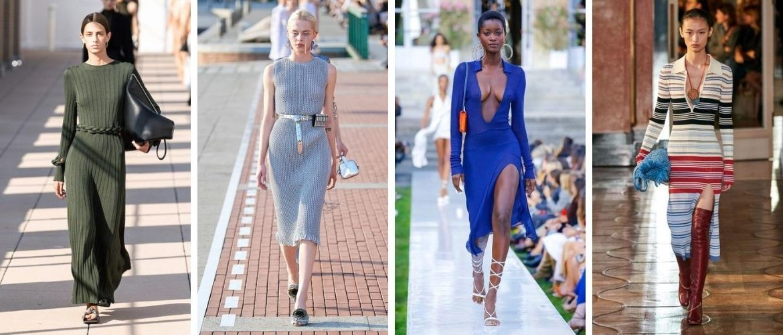 Трикотажные платья 2021-2022: удобство на любой сезон