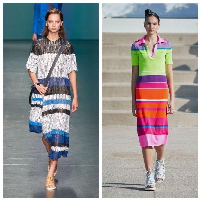 Трикотажные платья 2021-2022: удобство на любой сезон 14