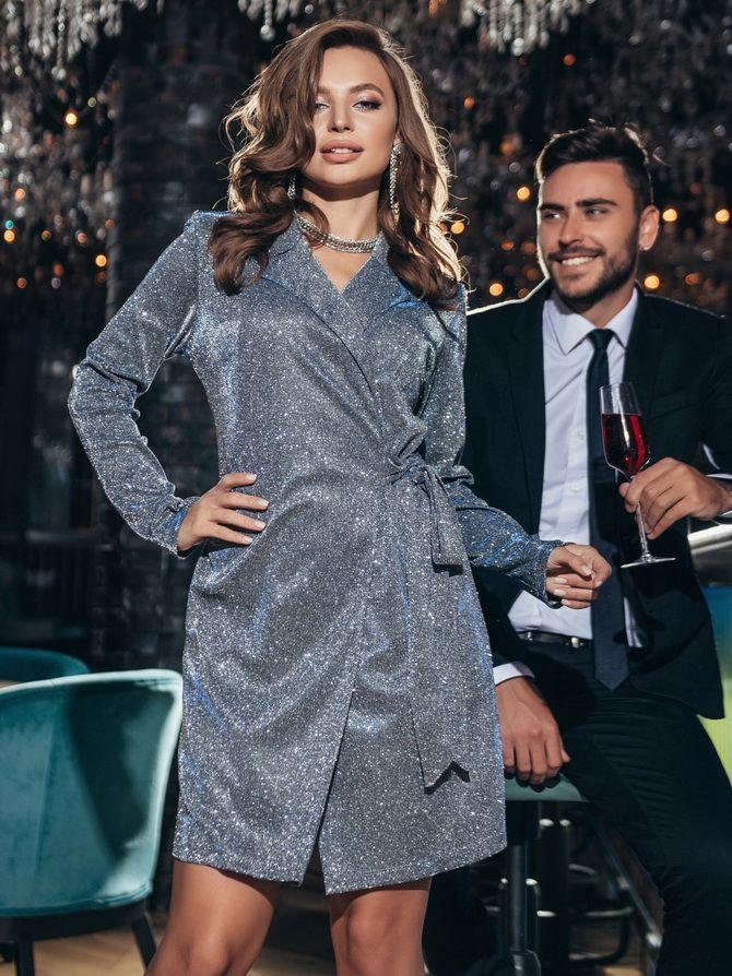 Трикотажные платья 2021-2022: удобство на любой сезон 24