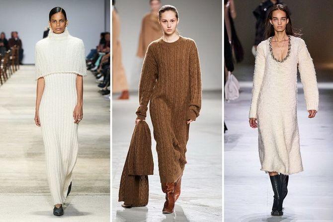 Трикотажные платья 2021-2022: удобство на любой сезон 31