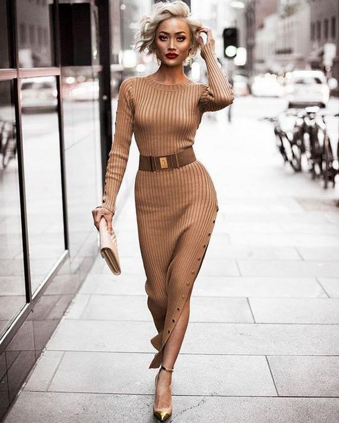 Трикотажні сукні 2020-2021: зручність на будь-який сезон 26