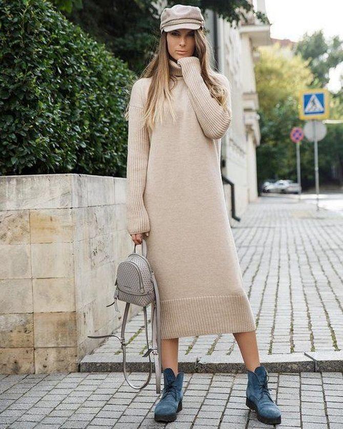 Трикотажные платья 2021-2022: удобство на любой сезон 35
