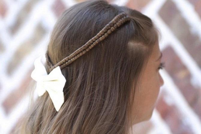 Модні і легкі зачіски на коротке волосся в школу для дівчаток 2021: цікаві ідеї на кожен день 4