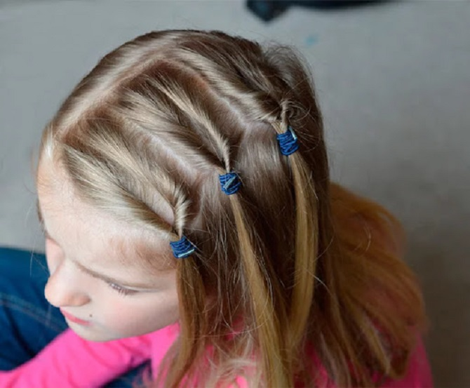 Модні і легкі зачіски на коротке волосся в школу для дівчаток 2021: цікаві ідеї на кожен день 3