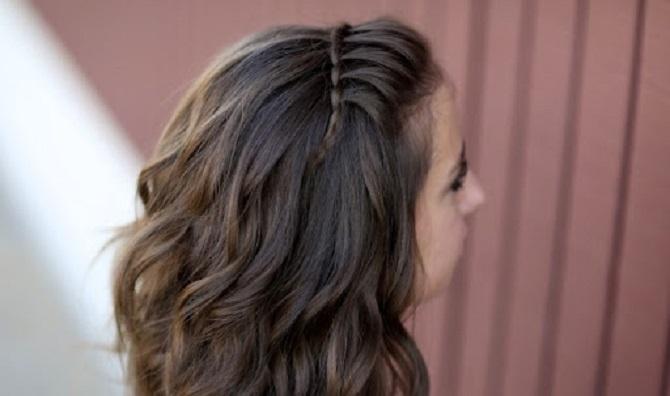 Модні і легкі зачіски на коротке волосся в школу для дівчаток 2021: цікаві ідеї на кожен день 1