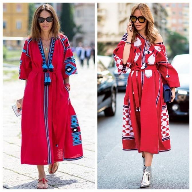 Платья с вышивкой — лучшие модели сезона 2021-2022 47