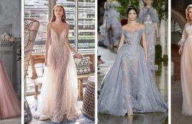 Цвета свадебных платьев 2020: основные тренды
