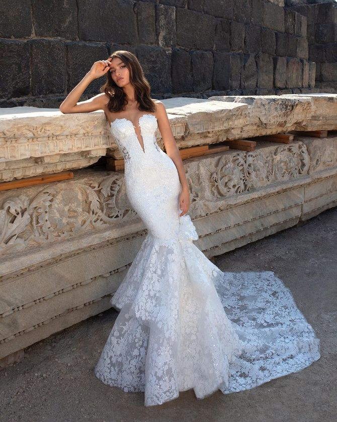 Цвета свадебных платьев 2021: основные тренды 6