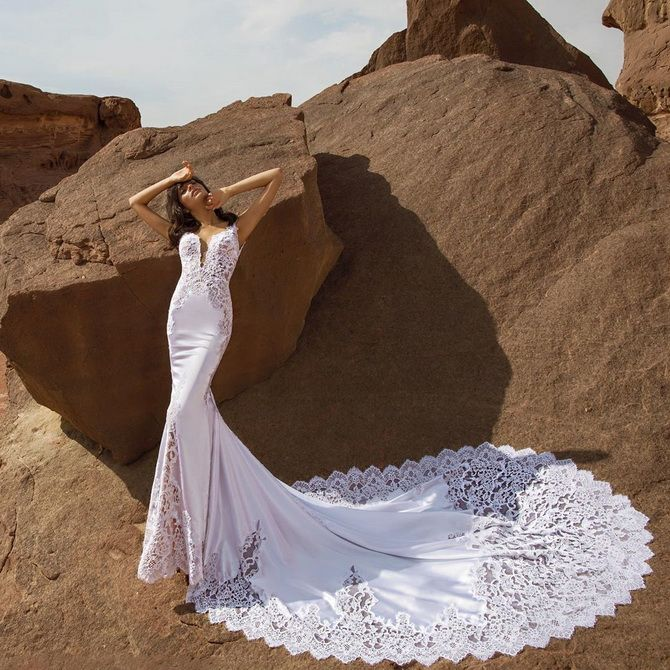Цвета свадебных платьев 2021: основные тренды 5