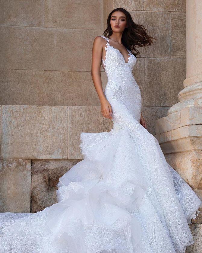 Цвета свадебных платьев 2021: основные тренды 9