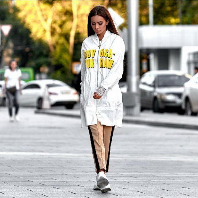 Женские ветровки 2021 — модный осенний тренд 3